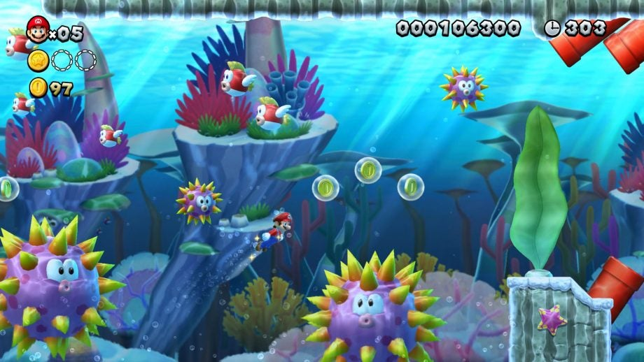 New Super Mario Bros  U Deluxe Review | Trusted Reviews