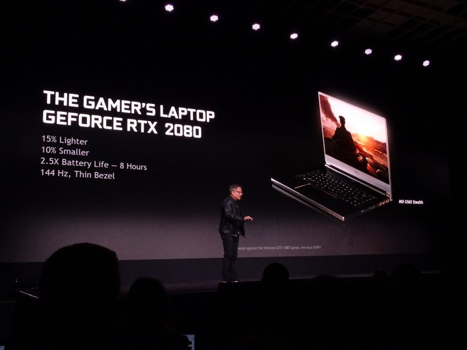 Nvidia CEO Jensen Huang at CES 2019