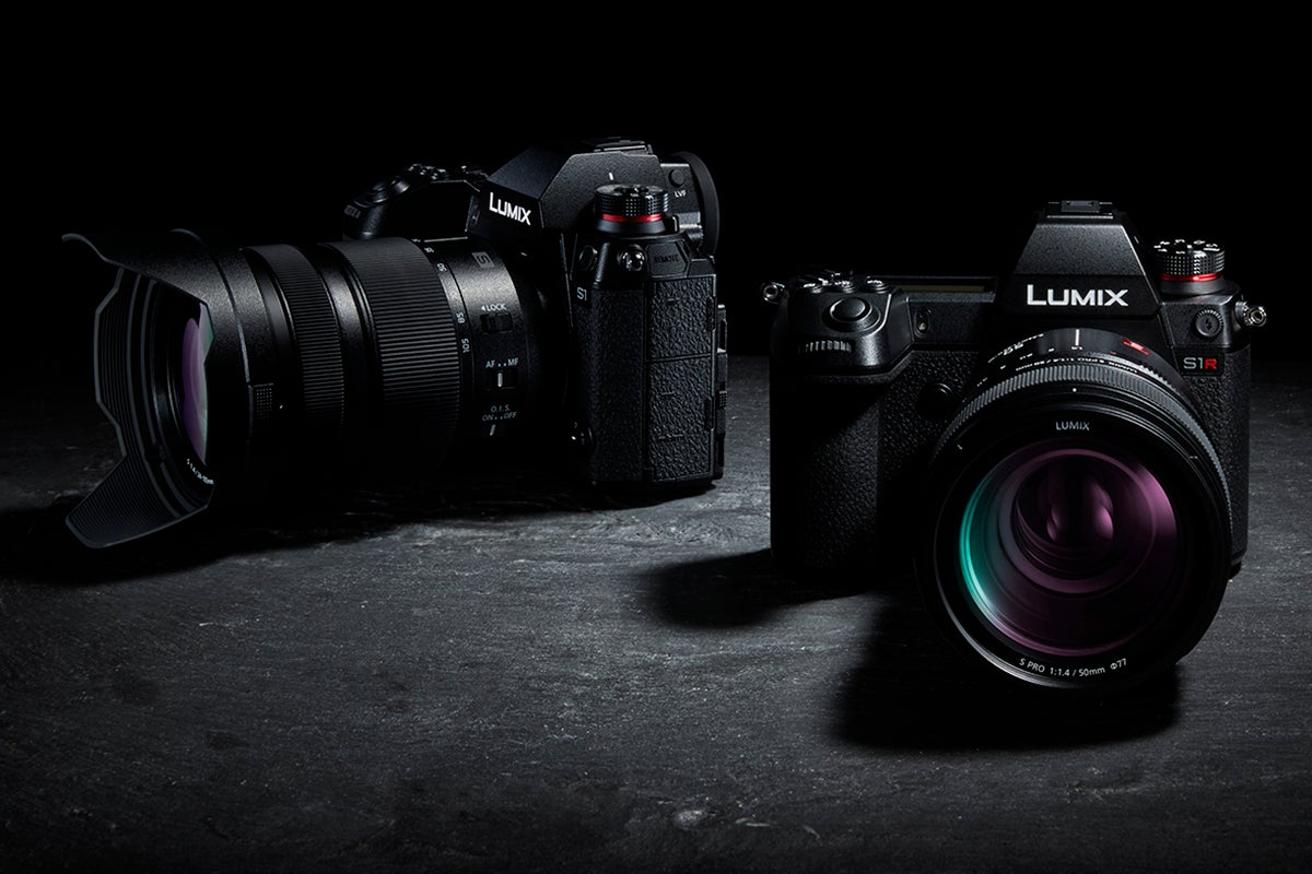 Panasonic S1 And S1r Full Frame Mirrorless Cameras All