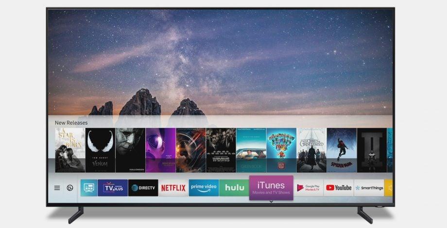 Samsung smart tv iTunes airplay