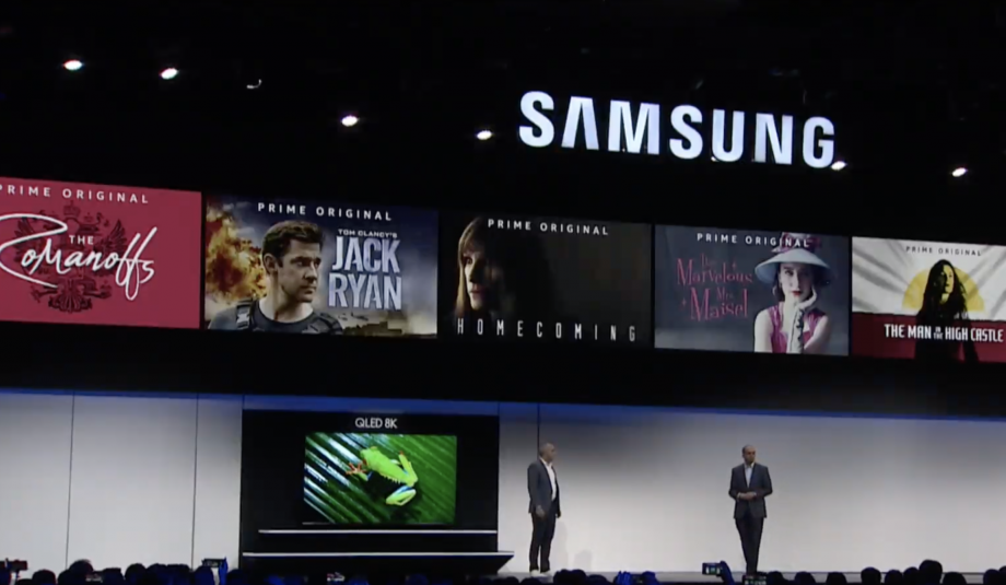 Samsung reveals huge new 98-inch 8K TV and teases 5G phone