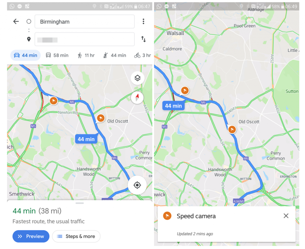 Google Maps is finally getting one of the best Waze features ... on google map content, google map errors, google map floor plans, google map wireframe, google map history, google map 360 view, google map coverage, google map food, google map styles, google map tools, google map examples, google map people, google map contact, google map weather, google map funnies, google map colors, google map 1998,