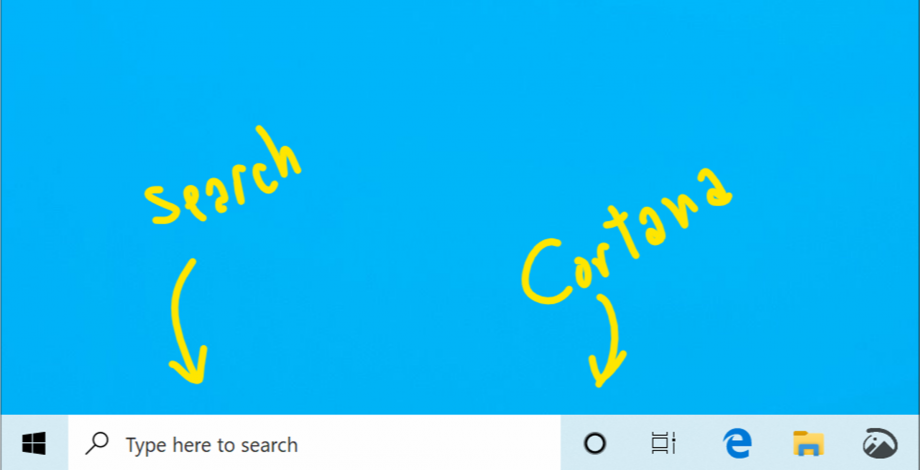 Windows 10 Search Cortana