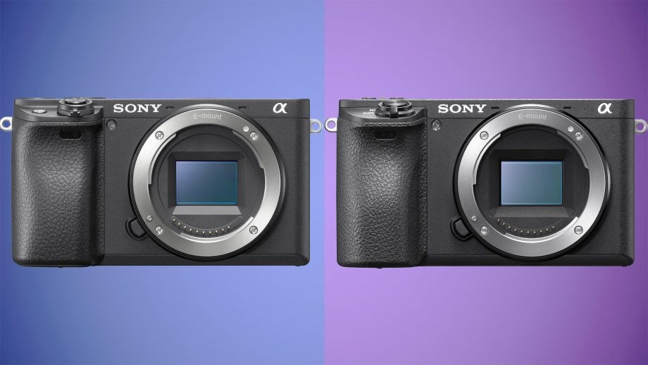 Sony Alpha A6400 vs A6500