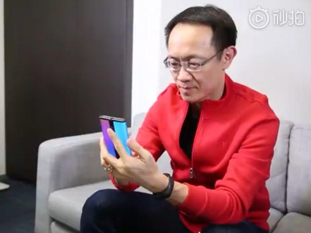 xiaomi folding phone teaser