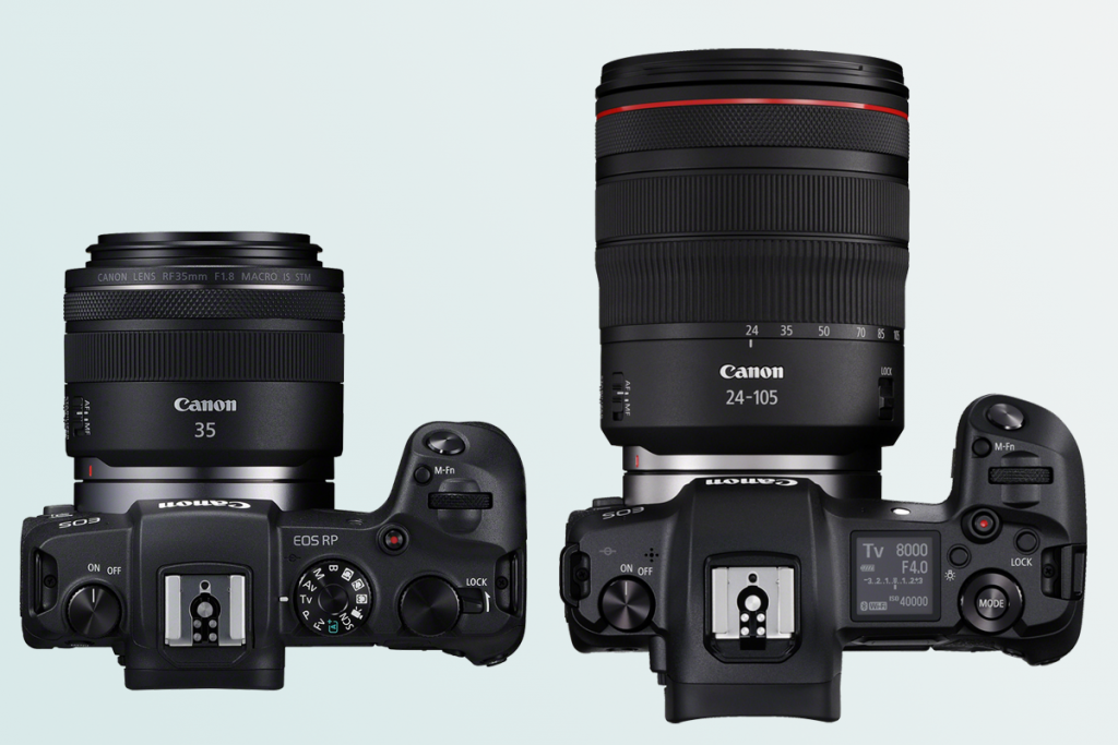 Canon EOS RP vs EOS R: which should you buy? | Trusted Reviews