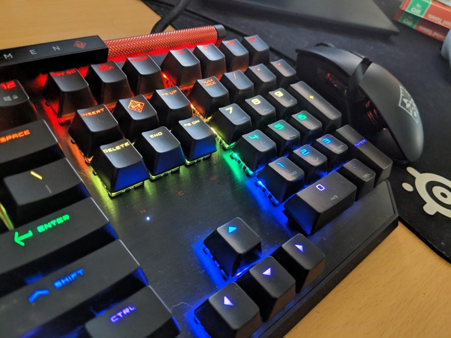 HP Omen Sequencer Gaming Keyboard Review | Trusted Reviews