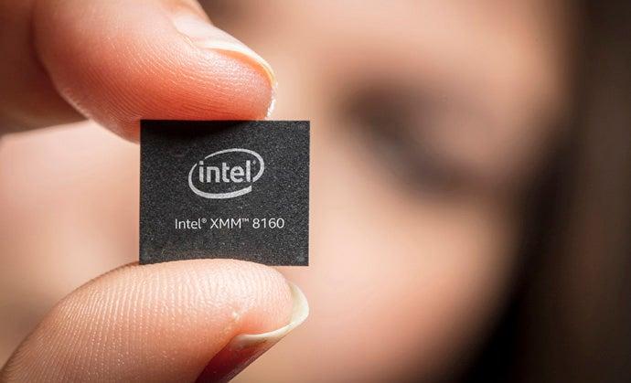 Intel XMM 8160 modem press image