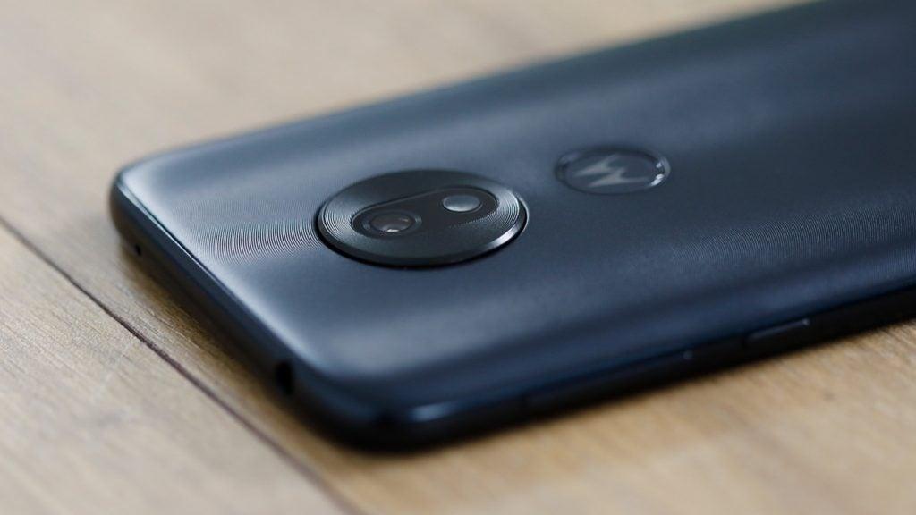 Moto G7 Play back camera macro