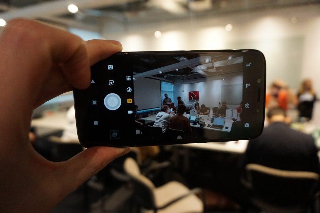 Moto G7 Play camera