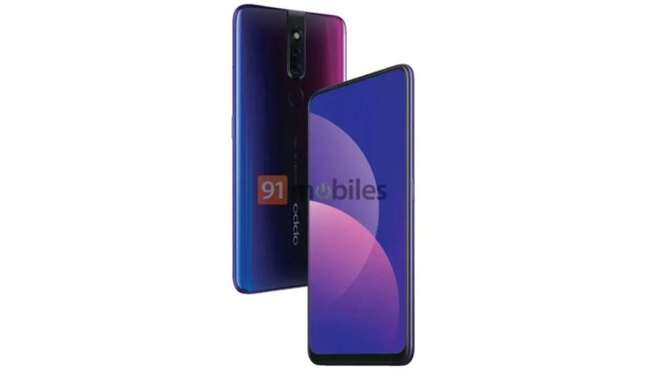 Oppo F11 Pro leaked press image 91mobiles
