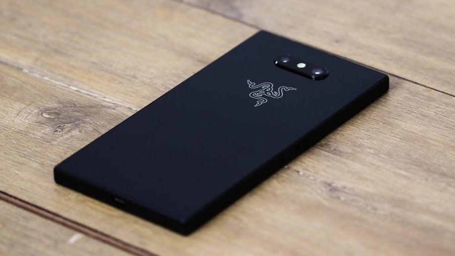 Razer Phone 2 back angled view