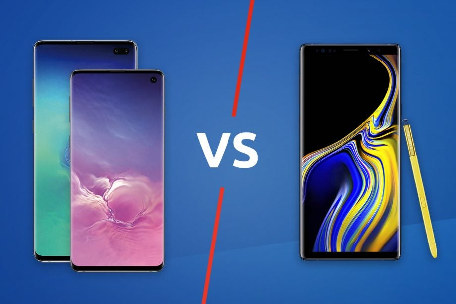 Samsung Galaxy S10 S10 Plus vs Note 9 lead image