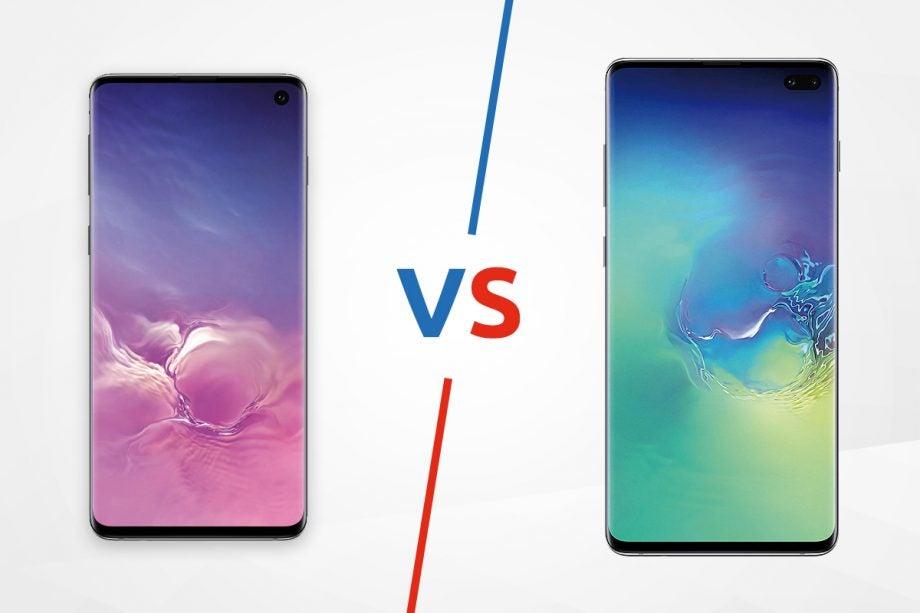 Samsung Galaxy S10 vs S10 Plus lead image