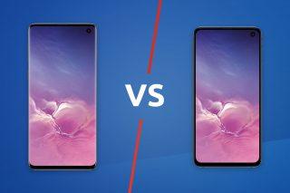 Samsung Galaxy S10 vs S10e lead image