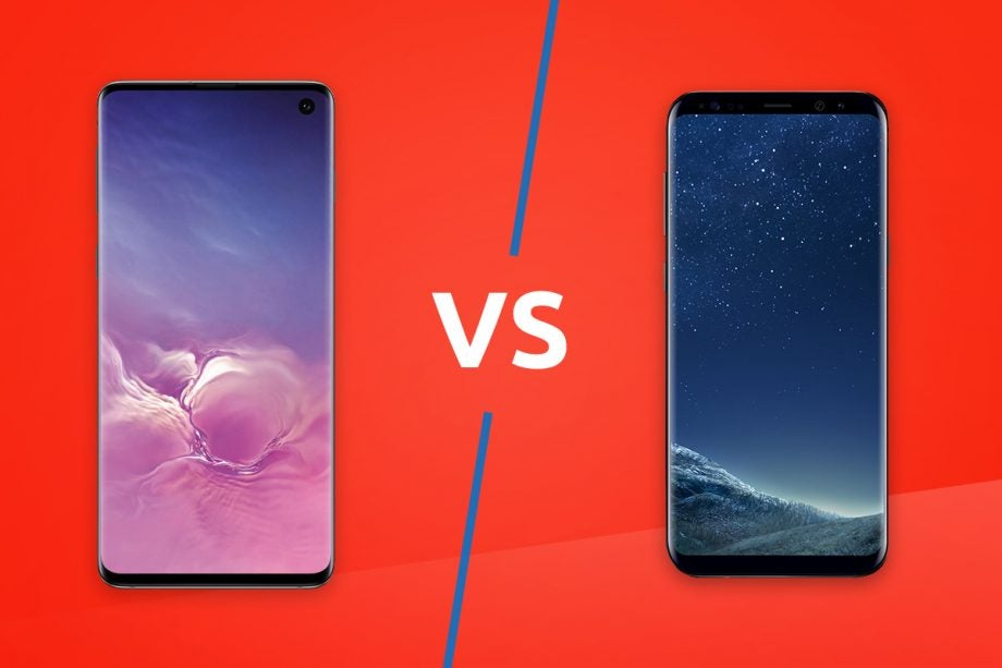 Samsung Galaxy S10 vs S8 lead image