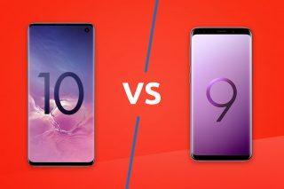 Samsung Galaxy S10 vs S9 lead image