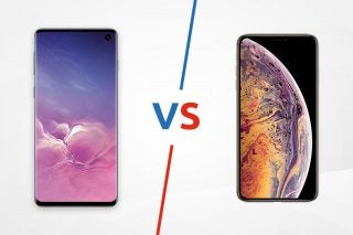 Samsung Galaxy S10 vs iPhone XS lead image
