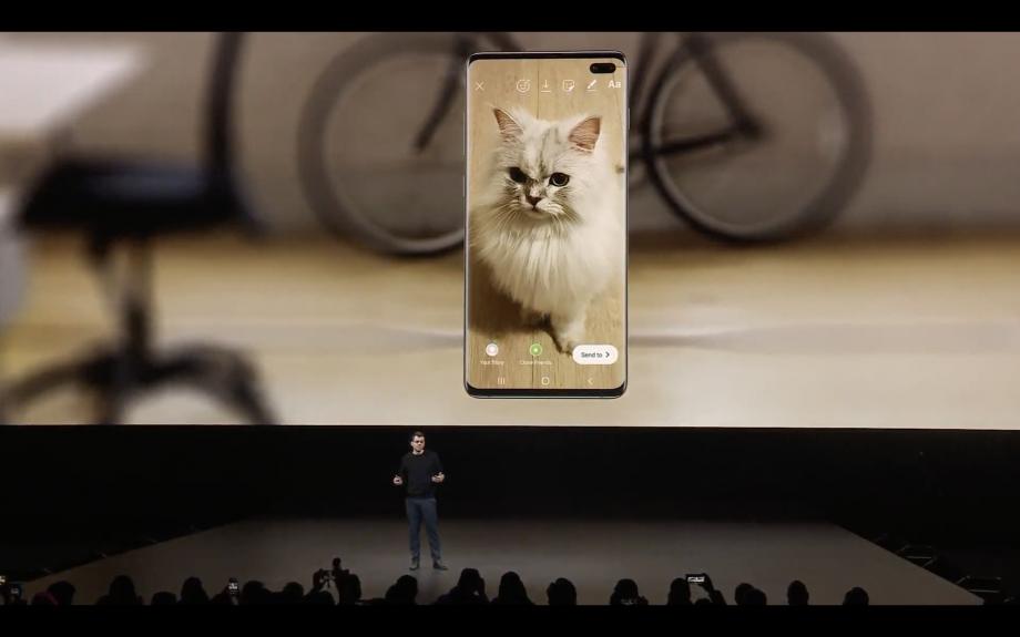 Samsung S10 Instagram Mode