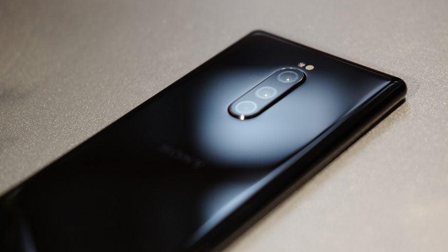 Sony Xperia 1 camera close up