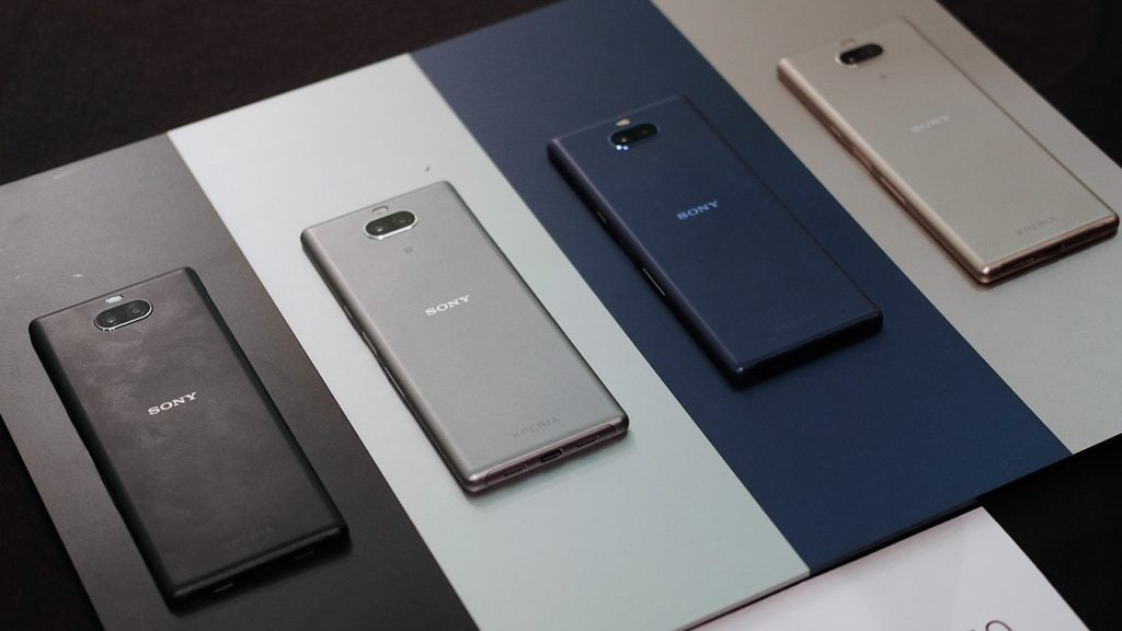 Sony Xperia 10 colourways