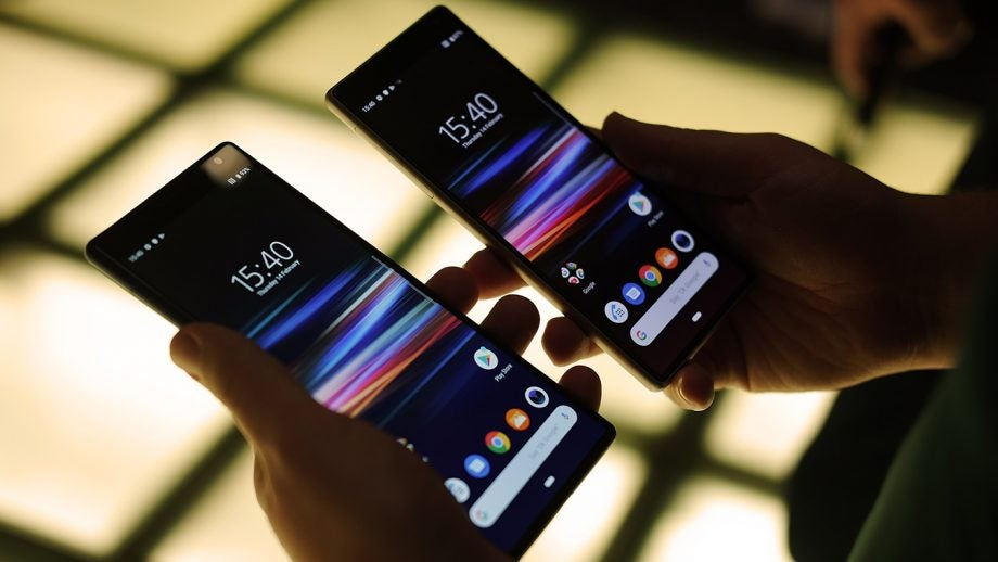 Sony Xperia 10 and 10 Plus handheld