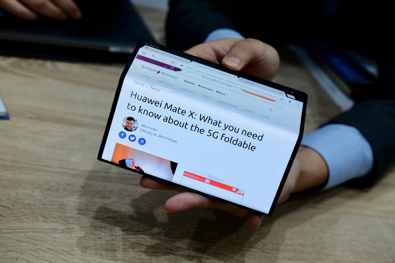 Huawei Mate X folding phones