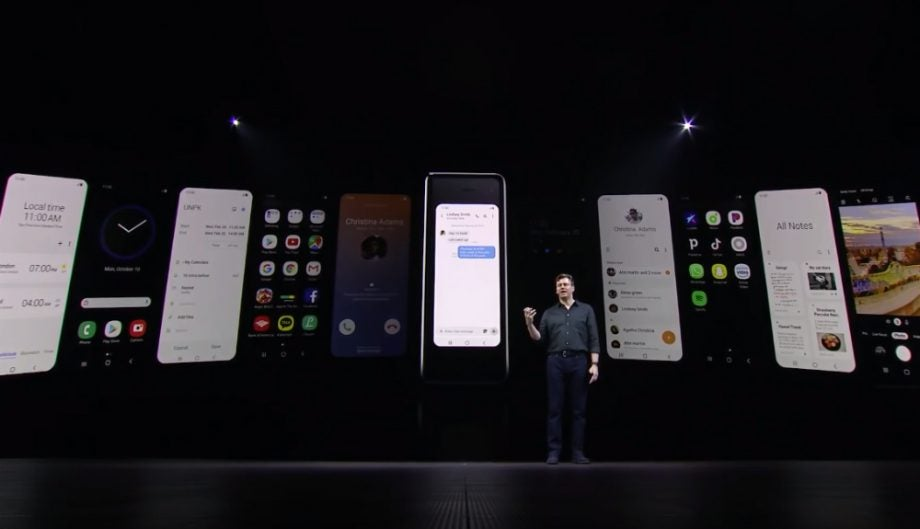 samsung galaxy fold outer screen 1