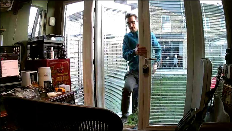 BT Smart Home Cam daytime sample shot