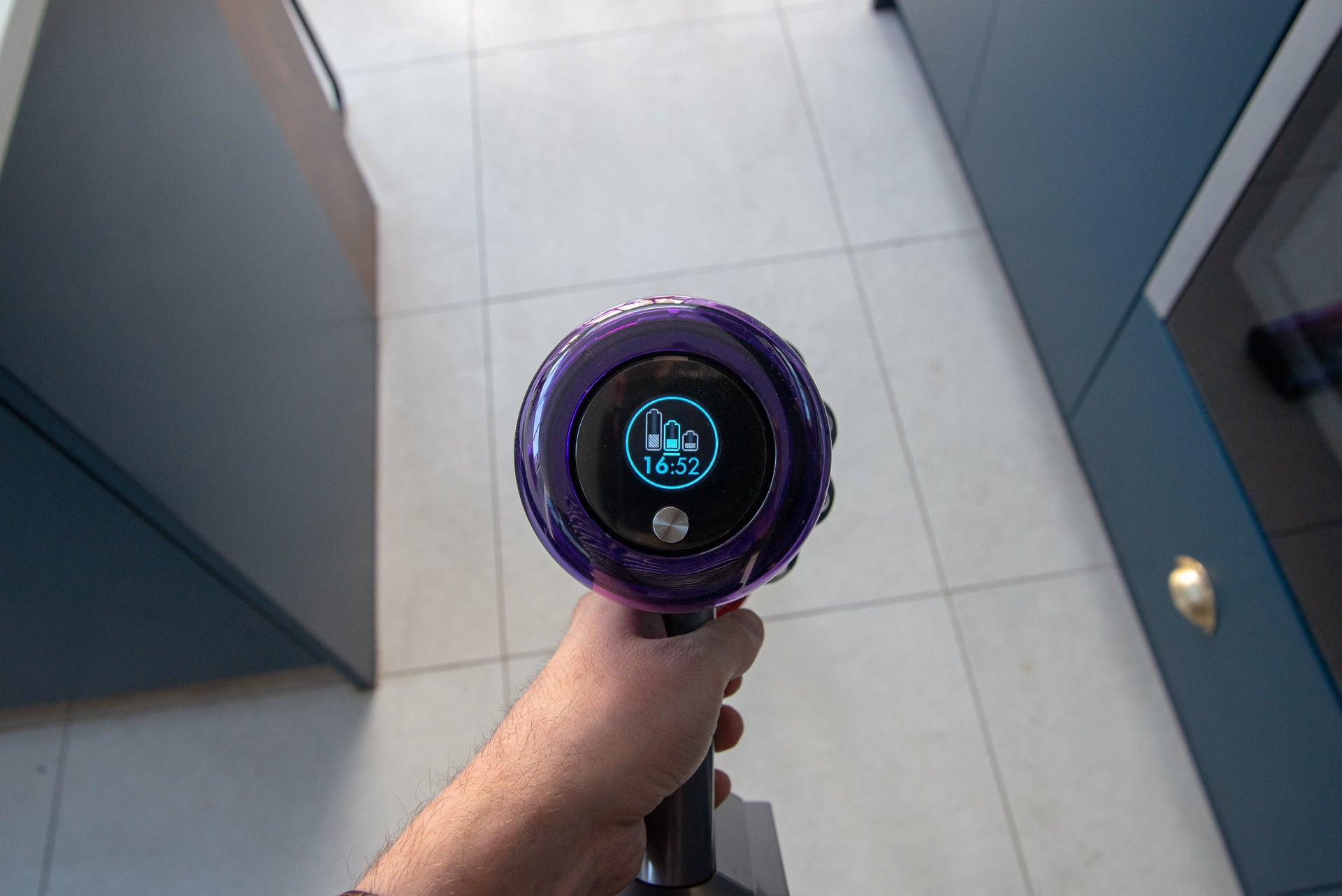 Dyson V11 Absolute run time remaining