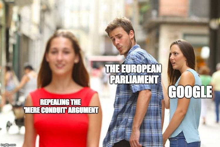 The EU's Directive on copyright in the Digital Single Market will not ban memes