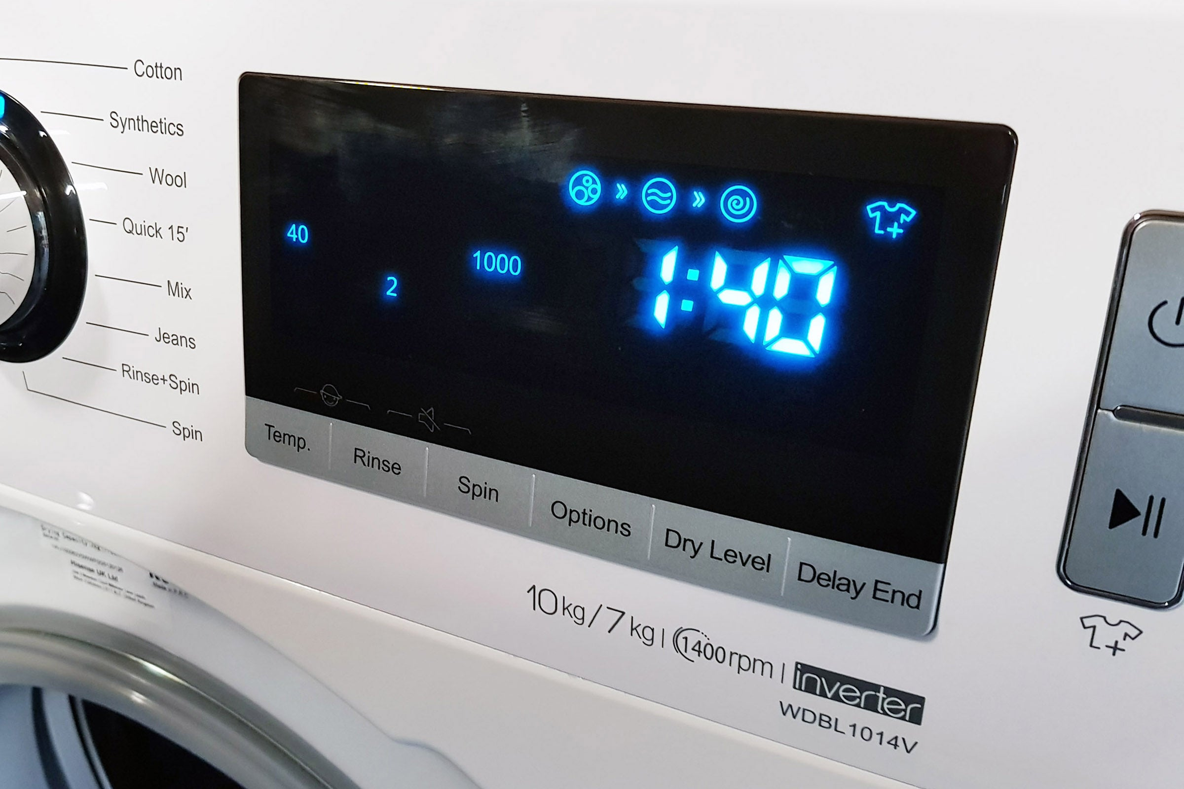 Hisense WDBL1014V Washer Dryer Review | Trusted Reviews