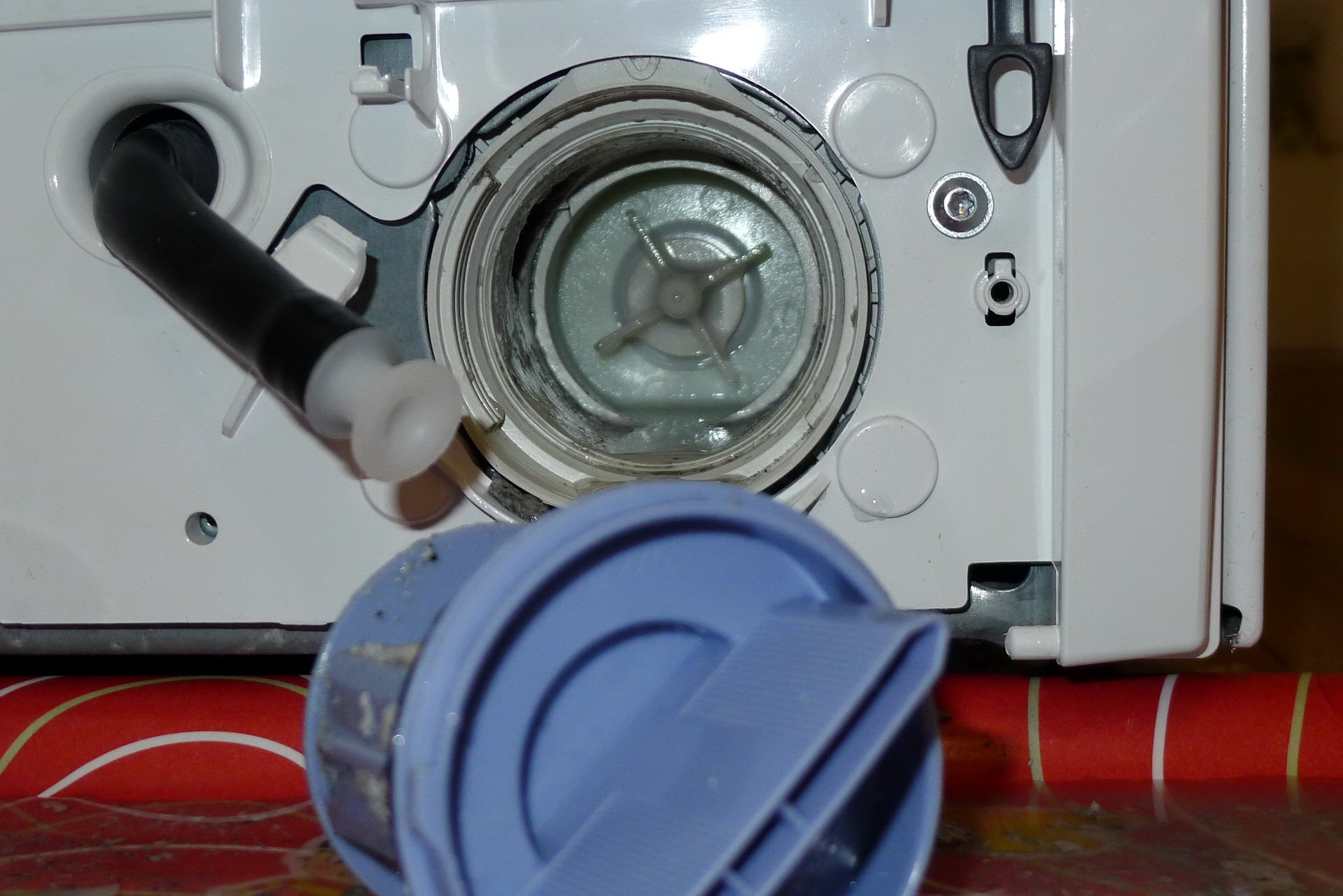Washing machine won't drain? Here's how to unblock it