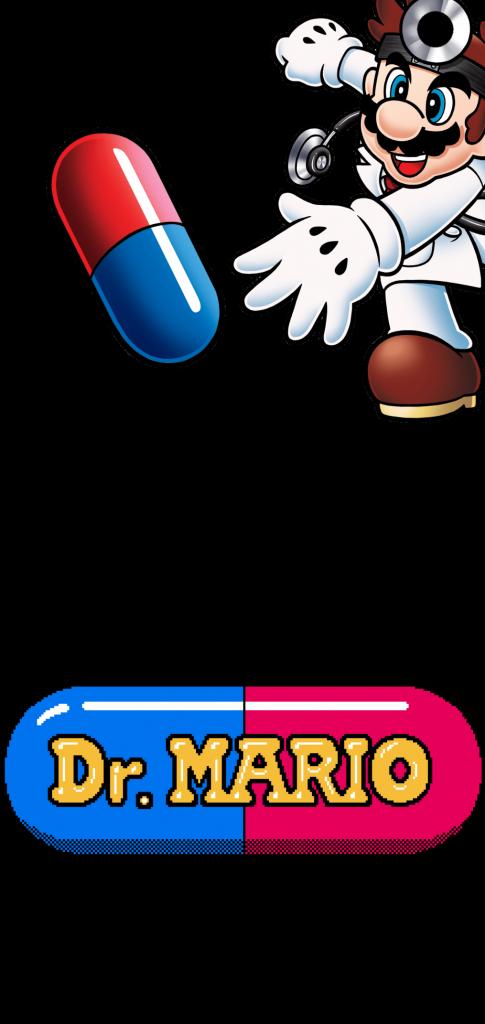 Samsung Galaxy S10 Dr Mario hole punch wallpaper