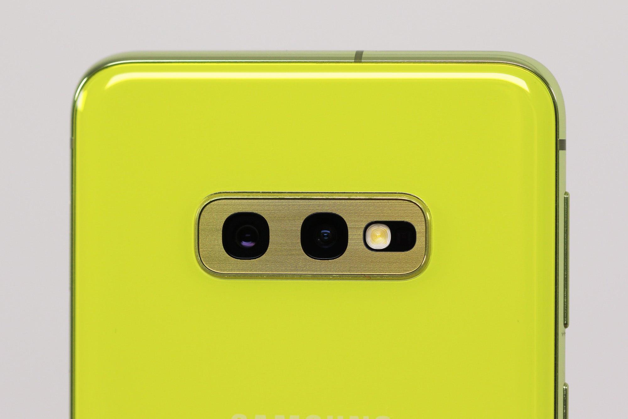 Samsung galaxy S10e camera