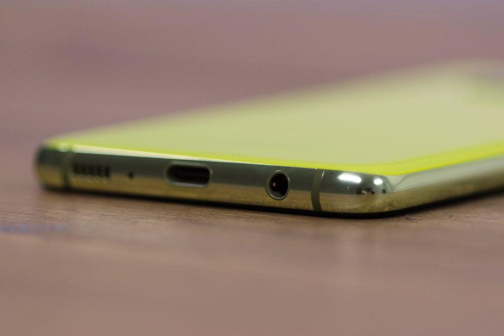 Разъем для наушников Samsung Galaxy S10e