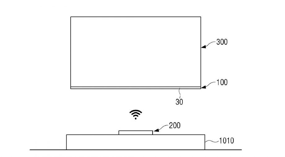 Samsung is working on a wirelessly powered TV, new patent suggests