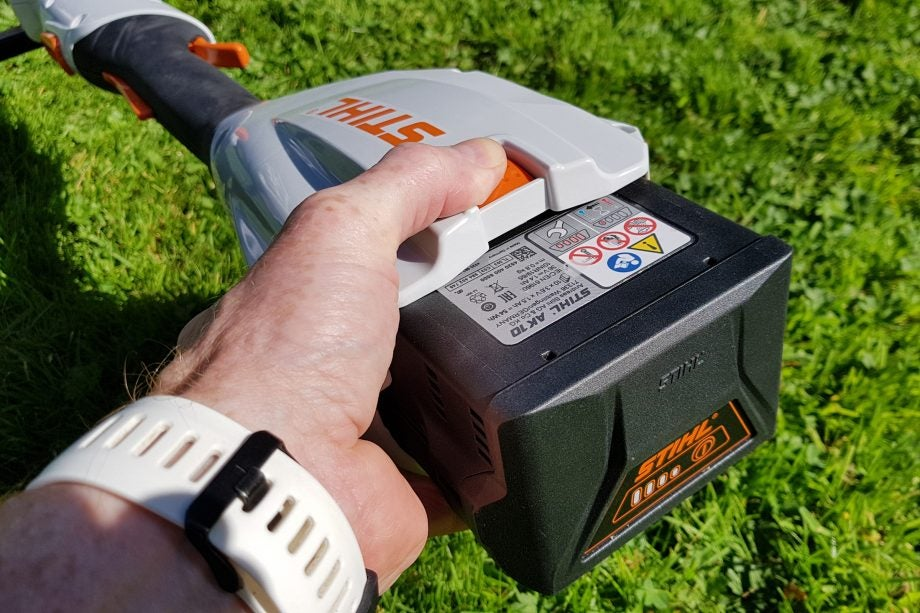 Stihl FSA 56 Cordless Grass Trimmer Review   Trusted Reviews