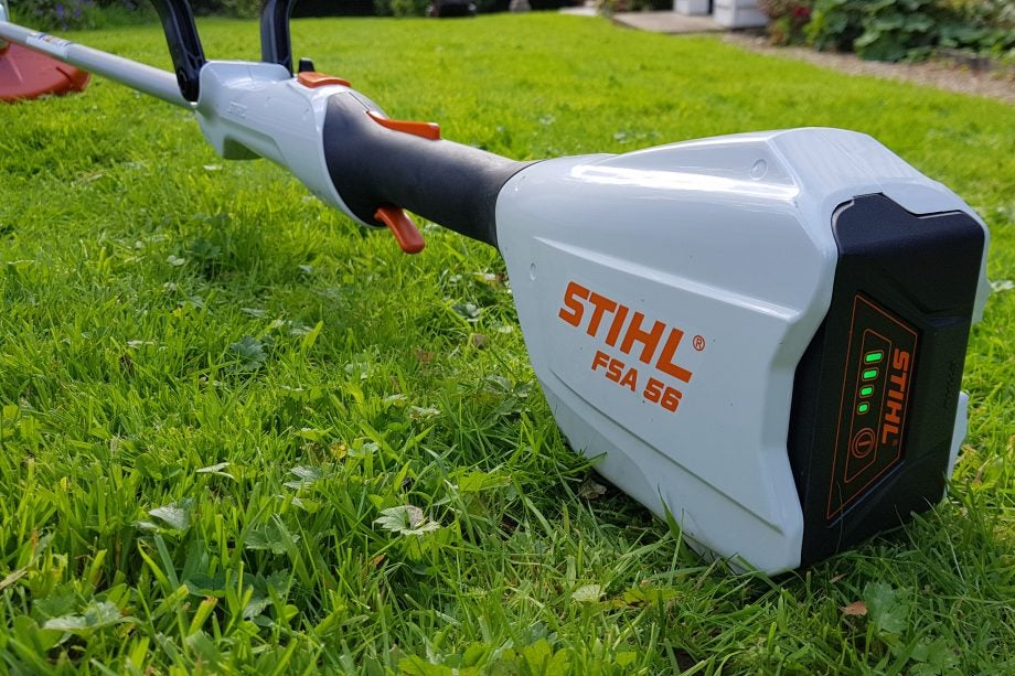 Stihl Fsa 56 Cordless Gr Trimmer Review Trusted Reviews