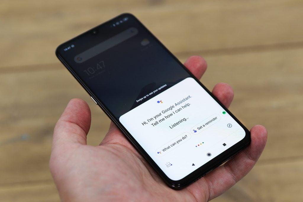 Xiaomi Mi 9 ключ Google Assistant