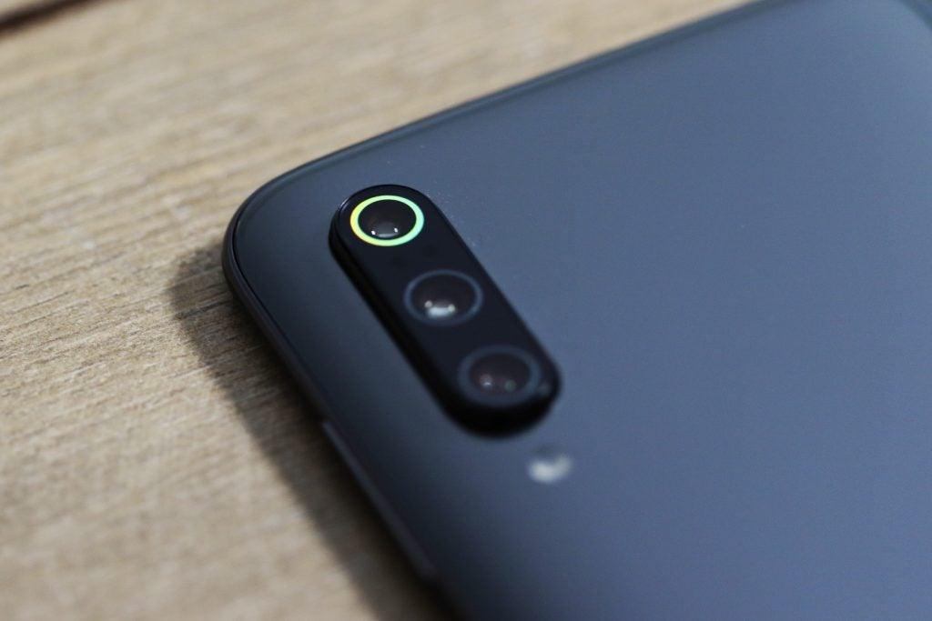 Xiaomi Mi 9 camera macro green ring
