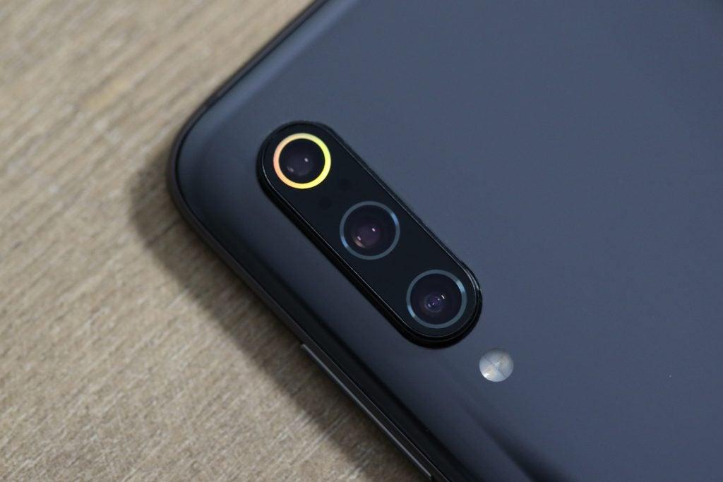 Xiaomi Mi 9 камера макро оранжевое кольцо