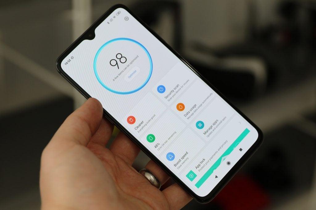 Xiaomi Mi 9 phone manager