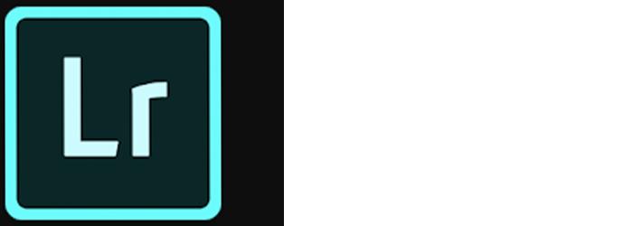 Adobe Lightroom app logo wide