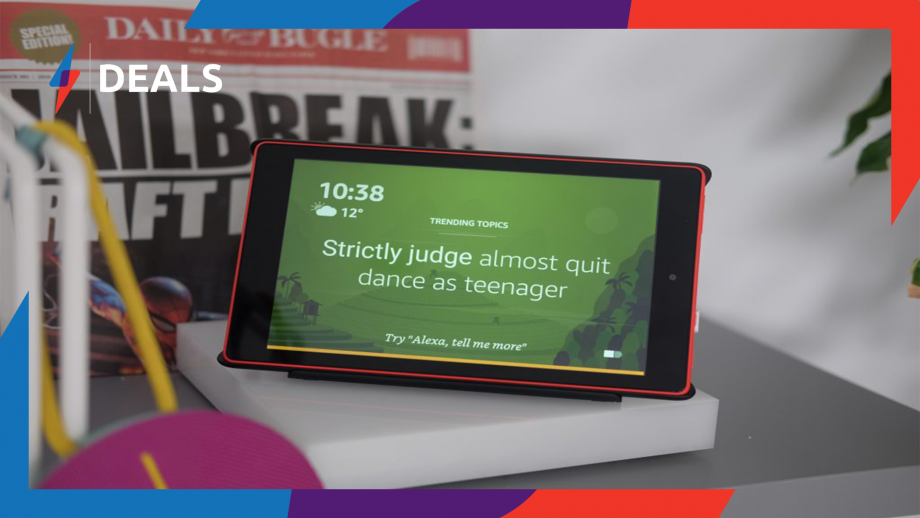Feeling the Monday blues? Get some retail therapy with this stonking offer on Amazon's Fire HD 8 Tablet