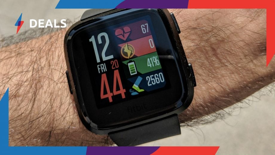Today Only: Pick up the Fitbit Versa for less than the