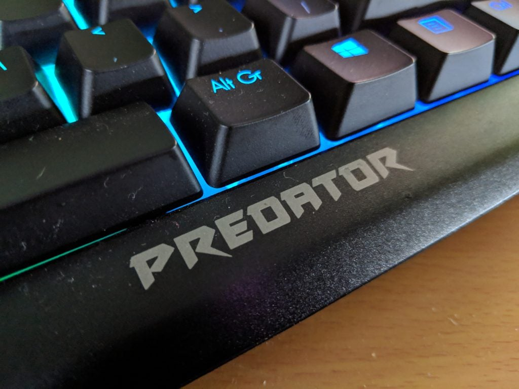 Acer Predator Aethon 500 Keyboard