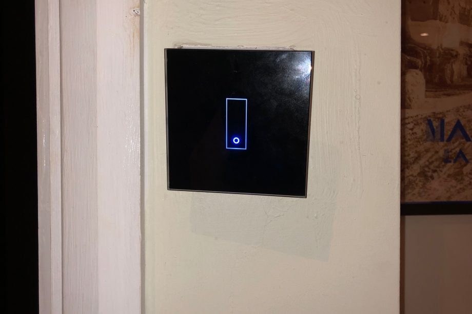 IOTTY Smart Switch on wall