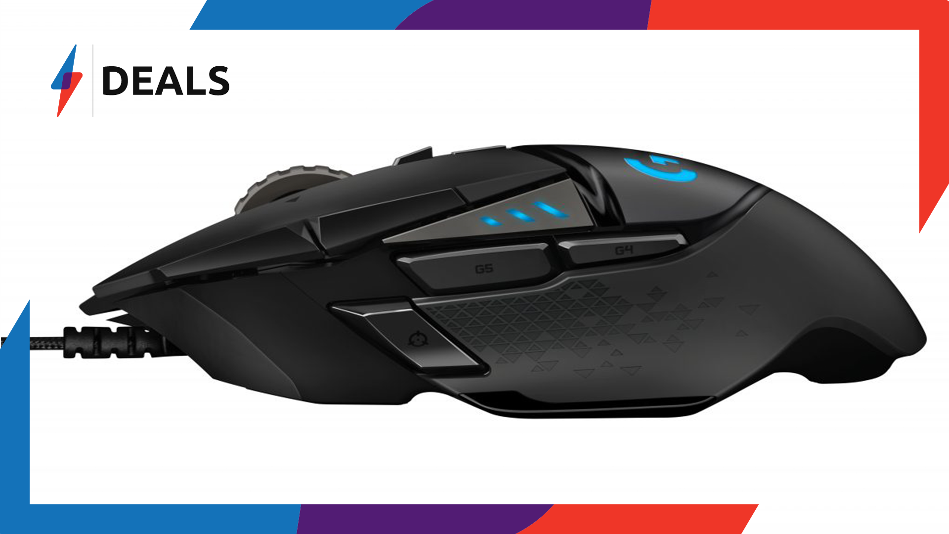 Calling all PC Gamers, Get 44% off Logitech's G502 Hero Gaming Mouse