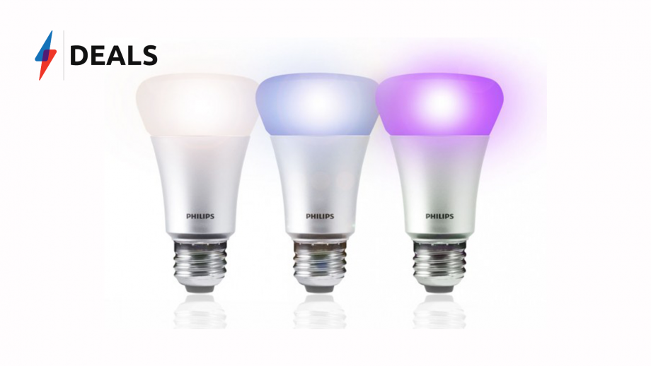 Phillips Hue Sale: Huge discounts on the Colour Kit and